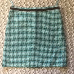 Banana Republic Houndstooth Skirt